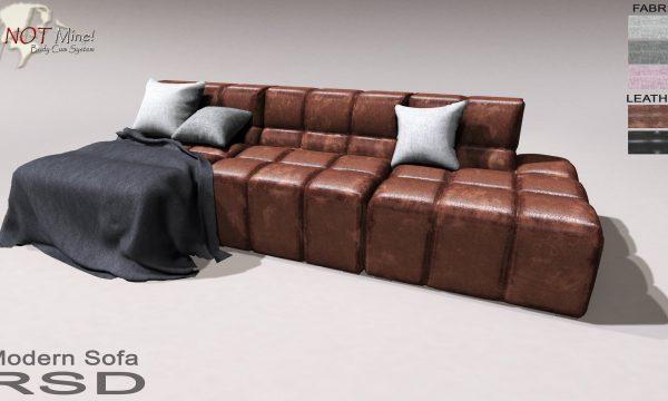 RSD - Modern Sofa.