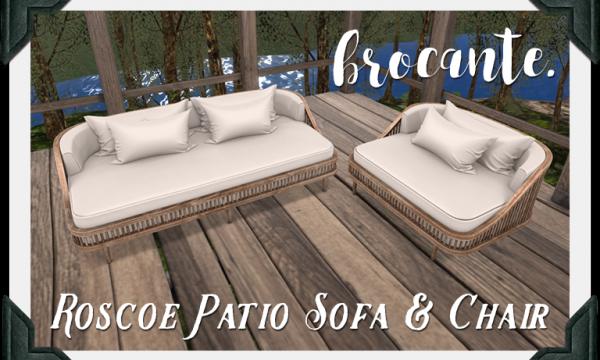 floorplan. / brocante. - Roscoe Sofa & Chair.