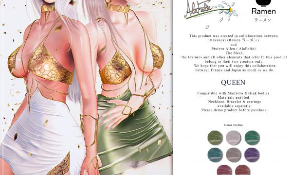 Ramen - Queen Dress.