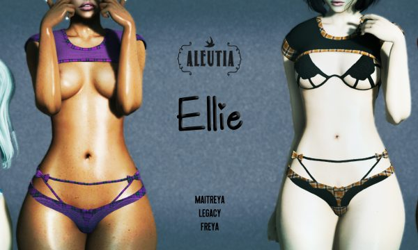 [ Aleutia ] - Ellie. Individual L$250 | Fatpack L$1299. Demo Available.